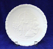 "Fenton~1776-1976~""Give Me Liberty or Give Me Death"" Plate #1 ~ 1973~White Satin"