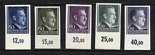 Poland - German Occupation Sc. #N88-90, 94, 96 Imperf Matched # Tabs MNH Gems