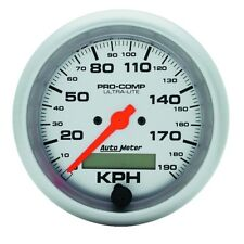 "Auto Meter 4487-M 3-3/8"" Speedometer Gauge 0-190 Km/H Electric Ultra-Lite"