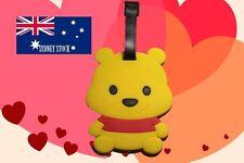 Winnie the Pooh Silicone PVC Cartoon Travel Luggage Suitcase Tag School Bag Tag