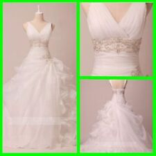 Ruffles Tulle Wedding Dresses