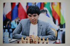 Gm Wesley tan signed 20x30cm foto autógrafo Autograph ip1 Grandmaster Chess