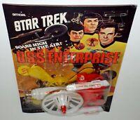 Star Trek Official 1977 U.S.S. Enterprise Soars High In The Air by AHI Paramount