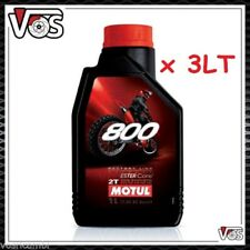 Olio Motore Moto Motul 800 2T Off Road Factory Line 100% Sintetico 3 litri 3 lt