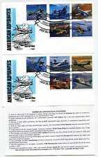 3916-25 37c Advances in Aviation, Oshkosh, WI, two Artmaster FDCs