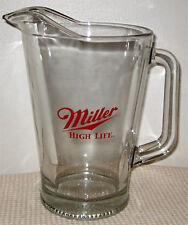 Miller High Life Glass Beer Pitcher