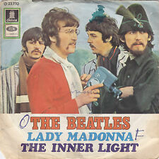 """Single 7"""" The Beatles """"Lady Madonna/The Inner Light"""""""