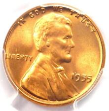 1955 Lincoln Wheat Cent Penny 1C - PCGS MS67 RD - Rare in MS67 - $825 Value!