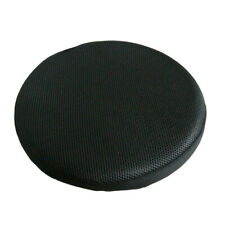 13inch Dia Black Round Bar Stool Cover Chair Slipcover Protector Cushion Pad