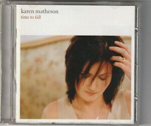 Karen Matheson - Time to Fall   (Vertical Records 2002)