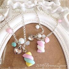 Braccialetto Bracciale Marshmallow ~ Cute Bijoux Fimo Polymer Clay Kawaii Candy