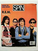 SPIN OCTOBER-1986 BOY GEORGE - REM - JIMMY SWAGGART - KOOL & THE GANG