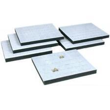 6 36 Slot Gray Foam Ring Display Tray Inserts