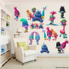 Trolls Room Decor -  Wall Decal Removable Sticker