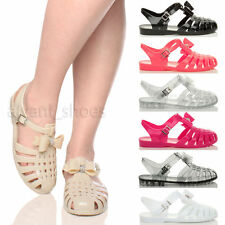 Flache Damen-Sandalen & -Badeschuhe im Gladiator-Stil für Freizeit