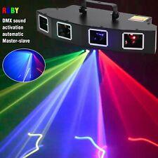 RGBY Muster Lichteffekt Laser Beam DJ Projektor DMX Bühnenbeleuchtung Disco Show