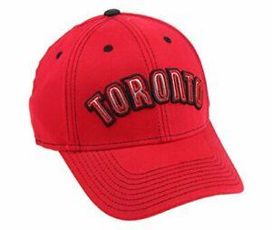 Adidas NBA Men's Toronto Raptors Structured Team Arc Flex Hat