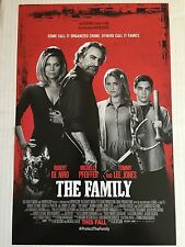 2013 MOVIE THE FAMILY WITH ROBERT DE NIRO 11X17 MOVIE SCREENING POSTERS