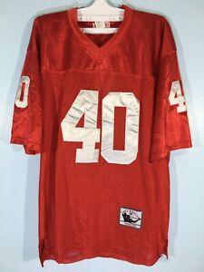 Vtg Cardinal Arizona NFL Footballl Jersey Mitchell & Ness Pat Tillman Shirt 54