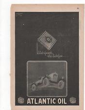 Pubblicità vintage ATLANTIC OIL AUTO advertising werbung reklame publicitè B8