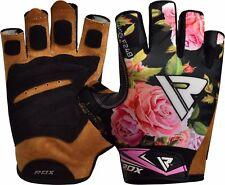 RDX Dames Gym Gewichtheffen handschoenen Bodybuilding Fitness Bruin  S NL