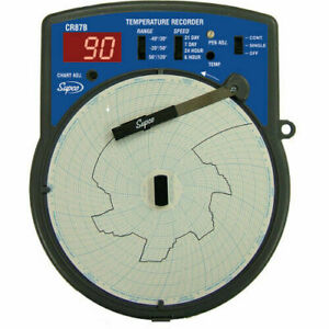 SUPCO CR87B Temperature Recorder Digital Display
