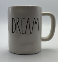 Rae Dunn DREAM Coffee Mug Cup Ivory LL Black Script By Magenta