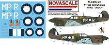 RAAF P-40M Kittyhawk Mini-Set Decals 1/32 Scale N32017c