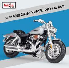 1:18 Maisto Harley Davidson 2009 FXDFSE CVO Fat Bob Bike Motorcycle Model Toy