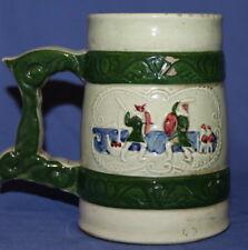 Vintage Norway Ceramic Glazed Pottery Stein Mug