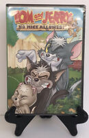TOM AND JERRY NO MICE ALLOWED (DVD, 2-Disc Set) New Sealed