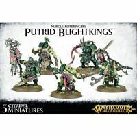 Warhammer Age of Sigmar Maggotkin of Nurgle Putrid Blightkings AoS Blight Kings