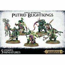 Warhammer Putrid Blightkings 5 Age Sigmar Maggotkin of Nurgle AoS Blight Kings