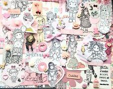 Girl scrapbooking  journaling kit