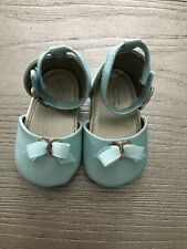 Mayoral Baby Cute Mary Jane Bow Shoes in Soft Gold 17