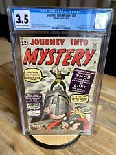 Marvel Comics Thor Avengers Journey into Mystery 85 CGC 3.5 1st App. of Loki  🔑