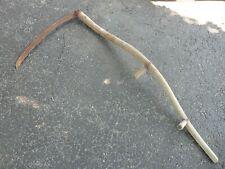 "Vintage Antique Long Handle Scythe 26"" Cutting Edge (B)"