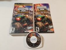 Monster Jam: Path of Destruction (Sony PSP, 2010) CIB Complete, tested & Great