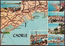 AA4612 Venezia - Provincia - Caorle - Vedutine e carta automobilistica
