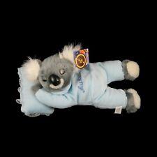 Australian Souvenir Australia Koala Sleeping Snoring Soft Plush Toy 30cm Blue