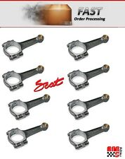"SCAT FORGED I-BEAM CONNECTING RODS SET GM CHEVY LS1 LS2 LS3 LS6 6.125"" .927"" PIN"