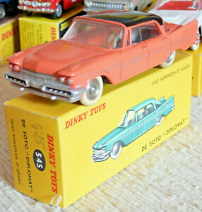 Superbe Vraie Dinky toys France Meccano De Soto Diplomat 545 + boite origine