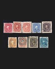 Vintage: Mexico 1885-86 First 2Og Sm Scott # 166-173 $ 113 Lt # Mex1885B64-C11