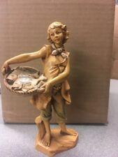 """7.5"""" Jesse - Fontanini Jesse & The Basket Of Fish Figure"""