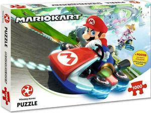 Mario Kart 1000 Piece Jigsaw Puzzle FREE POSTAGE NEW