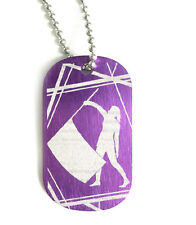 2 Sided Color Guard Necklace - Female
