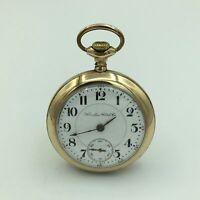 1904 Hamilton 21J GF Railroad Grade Adjusted OF Pocket Watch No. 414048 Size 18s