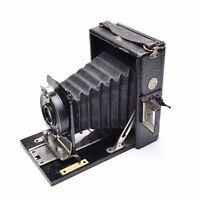 Thornton Pickard Filmak Folding Camera with Salex Anastigmat f/ 6.8 Lens. 1923