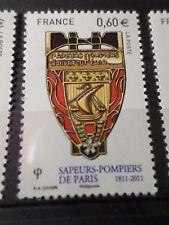 FRANCE 2011, timbre 4586 SAPEURS-POMPIERS, BLASON, neuf**, MNH FIREMAN