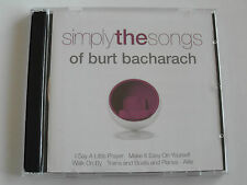 Simply the Songs Or Burt Bacharach - Various (2 x CD Album) Used Very Good